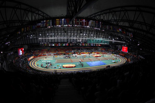The 2010 IAAF World Indoor Championships were superbly hosted in Doha's expansive Aspire Dome ©Getty Images