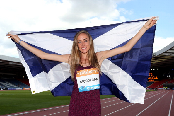 Eilish McColgan, pictured before this season's IAAF Diamond League meeting in Glasgow, knows at first hand what the temperatures are like for athletes in Doha ©Getty Images