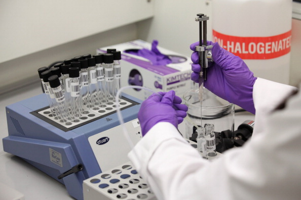 Doping analysis during the London 2012 Games ©Getty Images