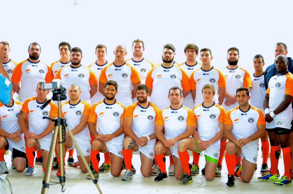 Cyprus' national rugby team made their international in 2007 when they beat Greece ©CRF