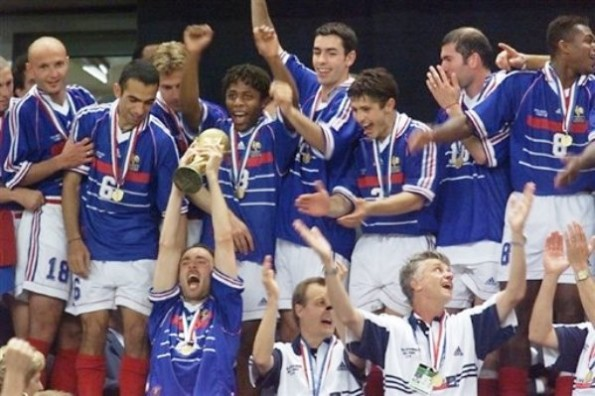 A multi-ethnic French football team provided the country with a massive lift when they won the 1998 FIFA World Cup ©Getty Images