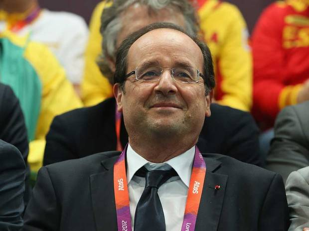 French President Francois Hollande has claimed he would support a bid from Paris for the 2024 Olympics and Paralympics ©Getty Images