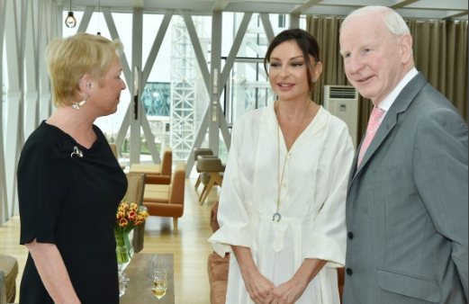 Patrick Hickey with First Lady 2
