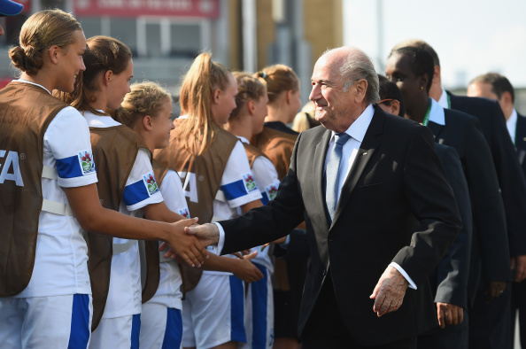 Sepp Blatter has claimed age-limits imposed by the International Olympic Committee are discriminatory ©Getty Images