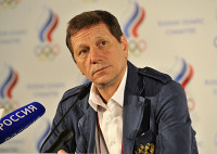 Alexander Zhukov has called for less foreign imports into sport in Russia ©ROC
