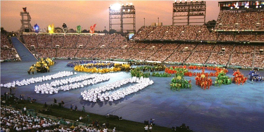 America has not hosted the Summer Olympics since Atlanta in 1996 when it staged the Centenary Games ©Getty Images