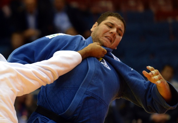 Brazil's Rafael Silva will look to take heavyweight honours in the absence of Teddy Riner ©AFP/Getty Images