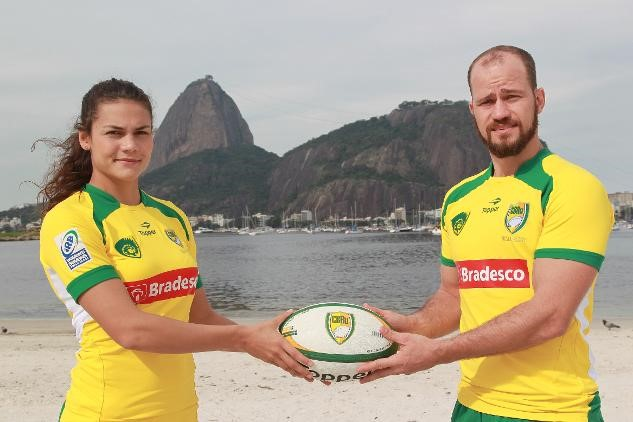 Brazil's men's and women's sevens teams will compete against those of Argentina and Italy on the Ipanema beach in Rio ©World Rugby