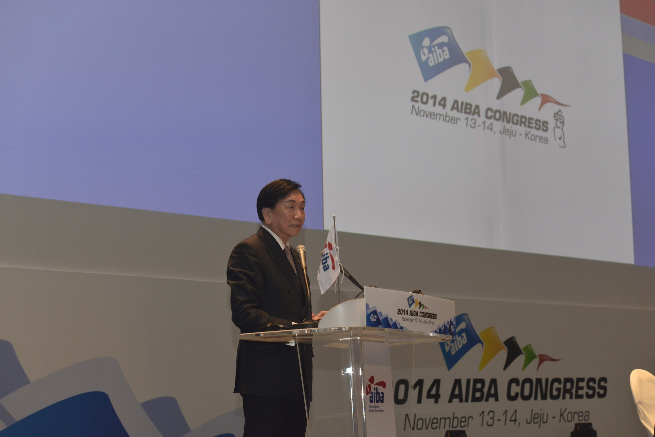 C K Wu, President of the AIBA, insists the IOA is not complying with the Olympic Charter ©AIBA