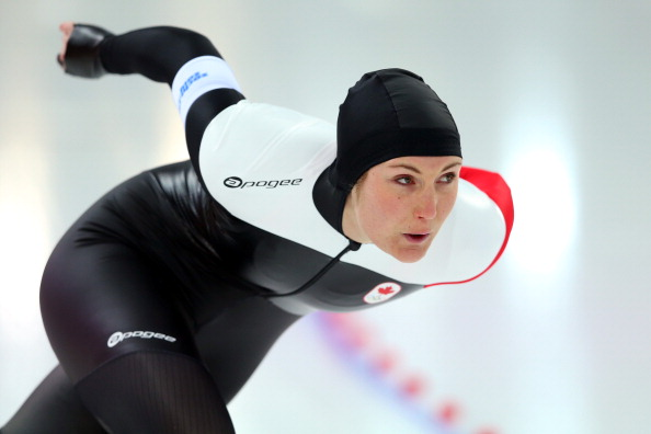 Canadian speed skater Anastasia Bucsis is one of the many Olympians backing the #OneTeam Athlete Ambassador Programme ©Getty Images