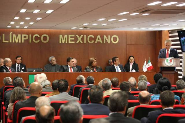 Mexican Olympic Committee President Carlos Padilla is hoping for a joint bid between Tijuana and San Diego ©COM