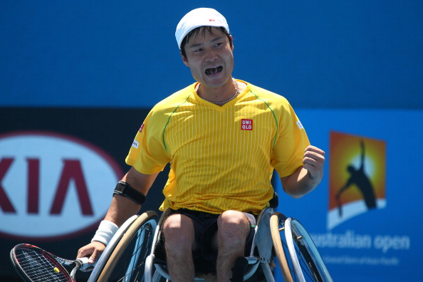 Defending champion Shingo Kunieda will seek a repeat of his 2014 Australian Open victory ©Getty Images