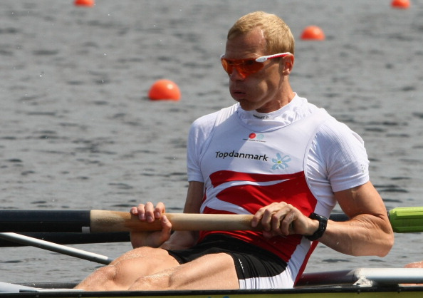 Denmark's Eskild Ebbesen, a three-time Olympic gold medallist, has benefited from his country's successful sports model ©Getty Images