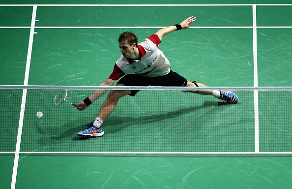 Denmark's Hans Kristian Vittinghus finished second in Group A of the men's singles competition ©Getty Images