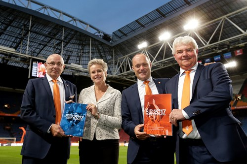 The Netherlands will host the 2017 Women's European Championships ©KNVB