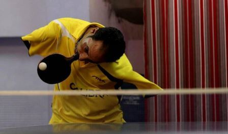 Egyptian table tennis player Ibrahim Hamato will receive a special award ©Twitter