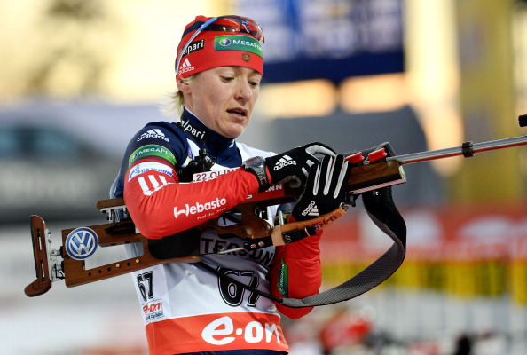 Ekaterina Iourieva retired from biathlon after failing a second drugs test prior to Sochi 2014 ©Getty Images