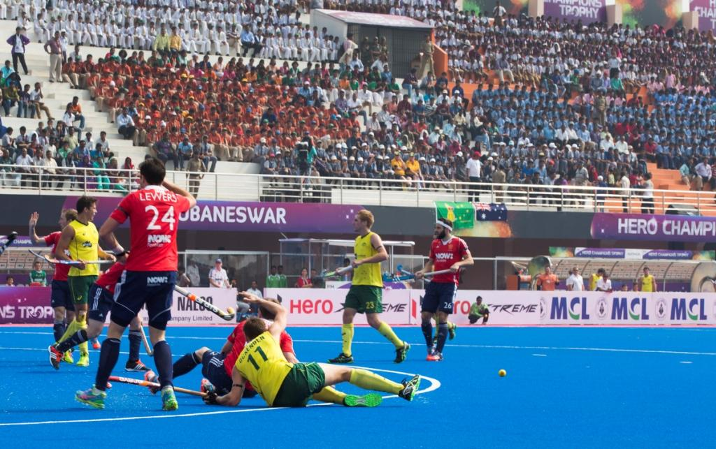 England recorded a shock victory over Australia on the opening day of the Men's Champions Trophy ©FIH