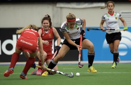 European rivals England and Germany saw their second day encounter end all square at one apiece at the Women's Champions Trophy in Argentina ©FIH