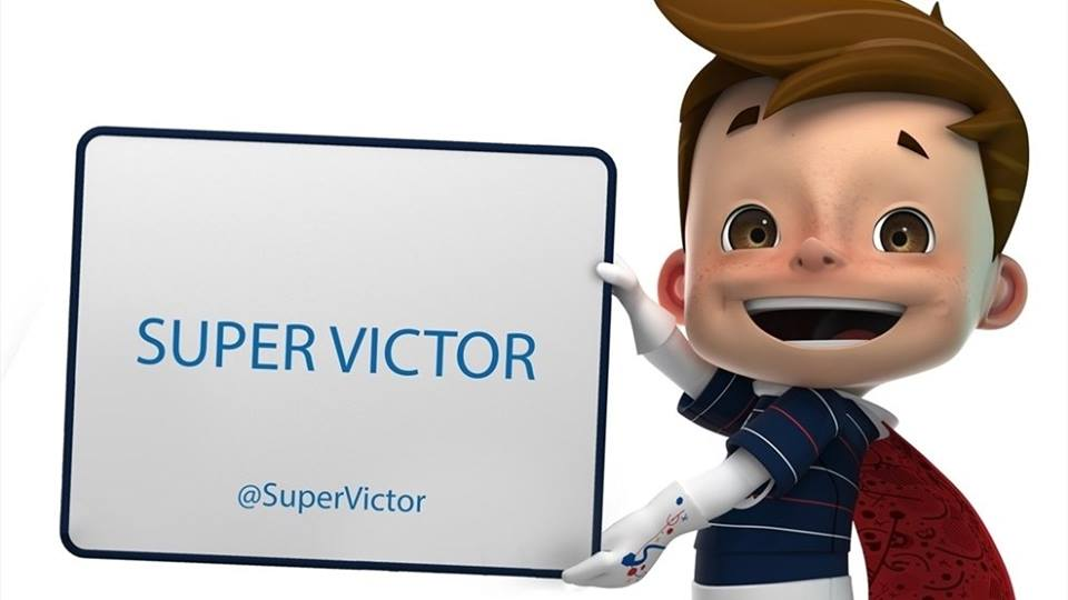 Fans have voted to name the UEFA Euro 2016 mascot Super Victor ©UEFA Euro Facebook