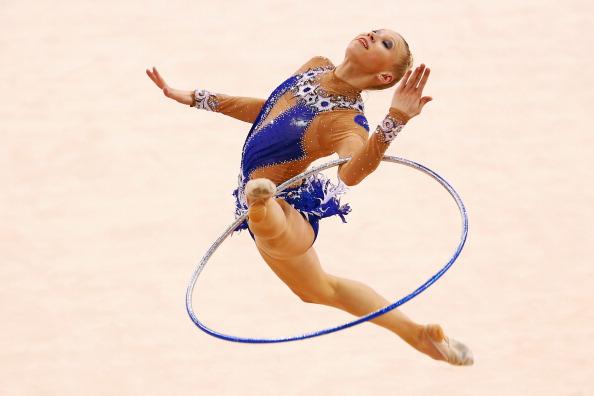 French rhythmic gymnast Kseniya Moustafaeva is among the athlete ambassadors announced for Baku 2015 ©Bongarts/Getty Images