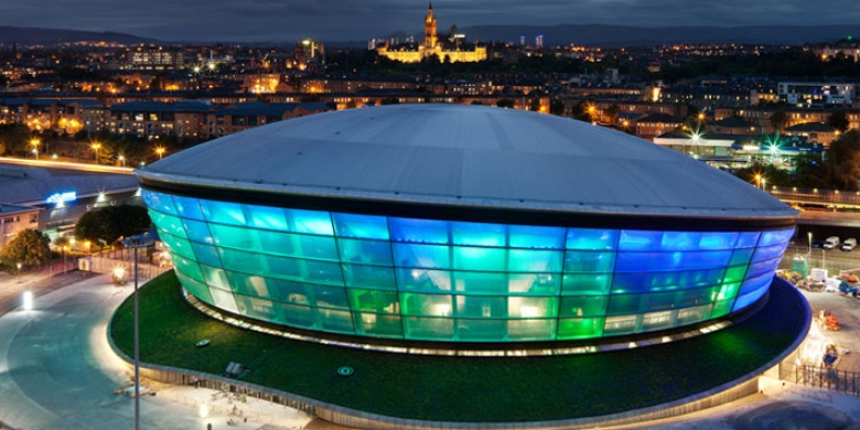 Glasgow's SSE Hydro will host the 2020 World Men's Curling Championship ©The SSE Hydro