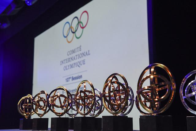 Golden Rings Awards were presented last night ©IOC