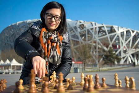 Hou Yifan of China enjoyed success in chess elsewhere on day three at the World Mind Games ©SportAccord