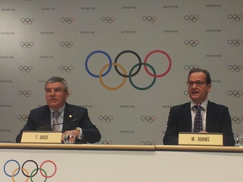 IOC President Thomas Bach has spoken optimistically about possible changes to future Olympic Games following Tokyo 2020 ©ITG