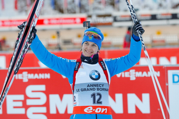 Irina Starykh could face an extended suspension after the IBU re-analysed previously stored samples ©Getty Images
