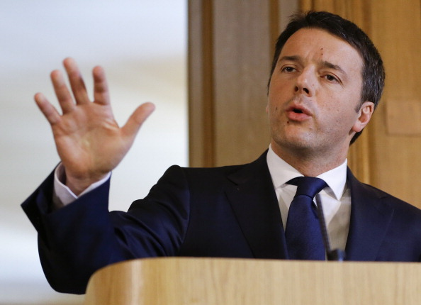 Italian Prime Minister Matteo Renzi is expected to announce a Rome 2024 Olympic bid tomorrow ©Getty Images