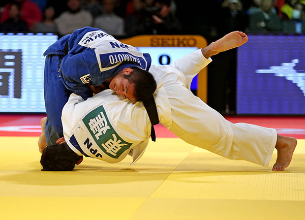Japan continue to dominate at the Tokyo Grand Slam ©IJF