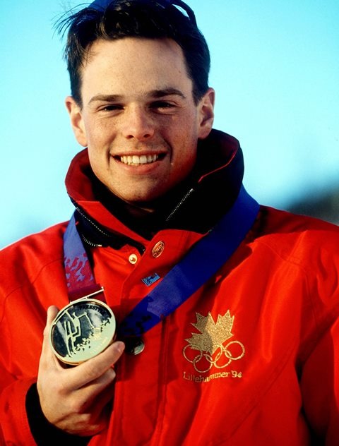 Jean-Luc Brassard won the Olympic gold medal in the moguls at Lillehammer 1994 ©Getty Images