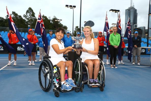 Calendar Year Grand Slam Golf : British wheelchair tennis players rack up most
