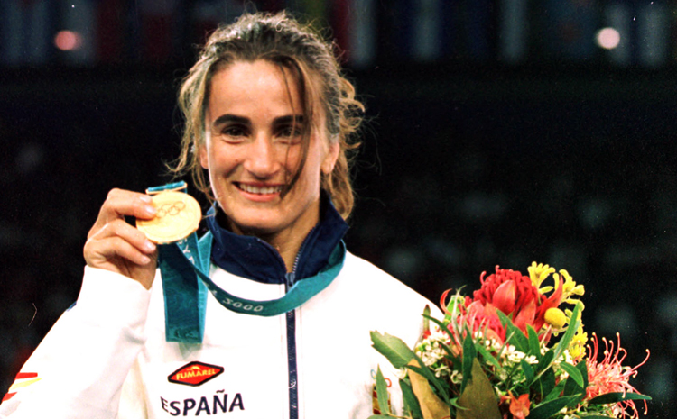 Judoka Isabel Fernández has been appointed vice-president of the Spanish Olympic Committee ©COE