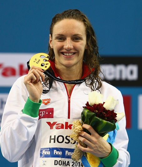 Katinka Hosszú earned a total of eight individual medals at the World Short-Course Swimming Championships in Doha ©Getty Images