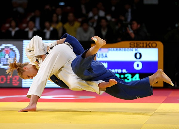 Kayla Harrison claimed gold in the women's under 78kg as the Tokyo Grand Slam came to a close ©IJF