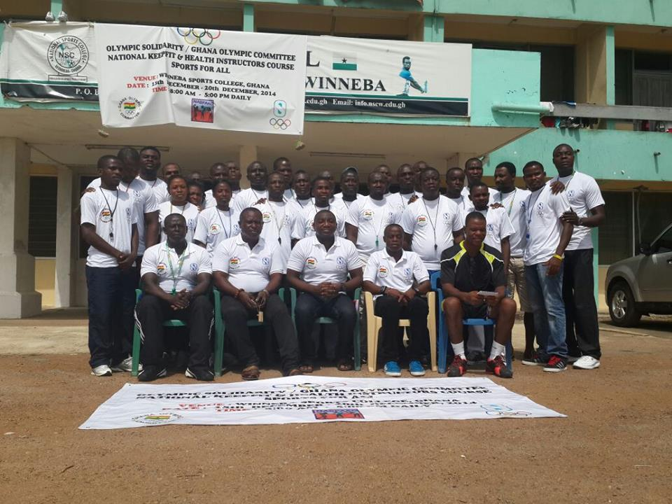Keep fit instructors recognised by the Ghana Olympic Committee ©GOC