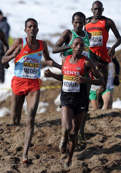 Kenya and Ethiopia have shared the last 33 men's team titles at the World Cross Country Championships, with  Japhet Kipyegon Korir the reigning individual champion ©Getty Images