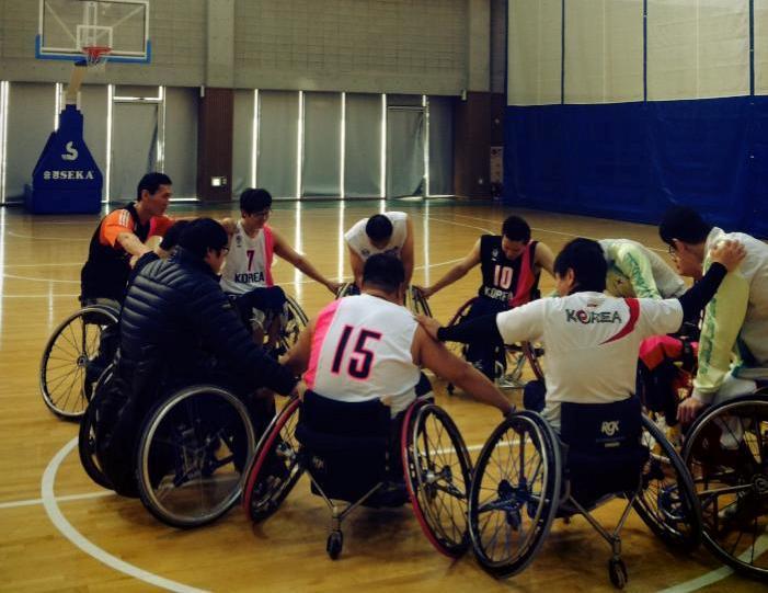 Korea is set to launch a new wheelchair basketball league ©Facebook