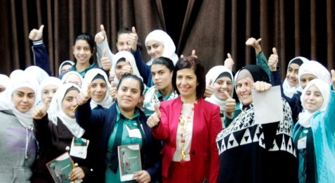 Lana Al Jaghbeer has urged more girls to strive to break through in male-dominated worlds ©JOC
