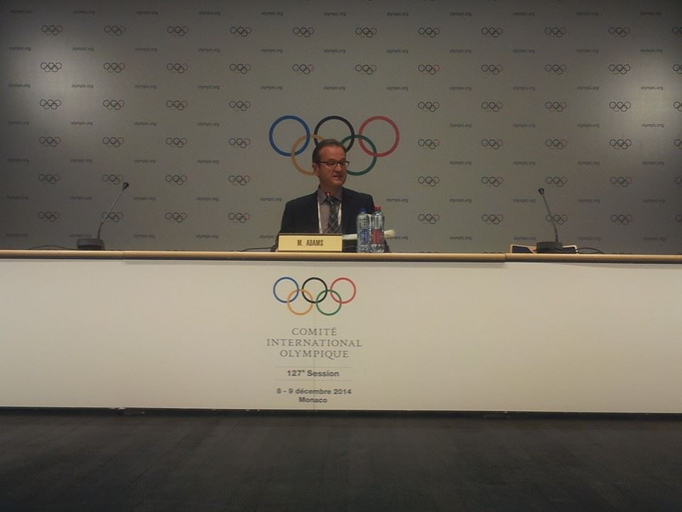 IOC Communications Director Mark Adams predicted there will be no changes to the planned schedule of events, in swimming and other sports ©ITG
