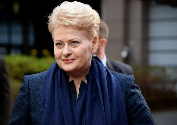 Lithuanian President Dalia Grybauskaite has expressed her support for the European Goalball Championships ©AFP/Getty Images
