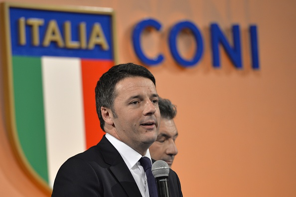Matteo Renzi has confirmed Rome's bid for the 2024 Olympics and Paralympics ©AFP/Getty Images