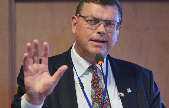 """Mogens Jensen, Denmark's Trade and Development Minister, says exporting the Danish sports model """"can help to create better conditions for democracy and human rights in other countries"""" ©Getty Images"""
