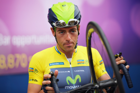 Movistar Team rider Alex Dowsett will attempt the world hour record in round five of the Revolution Series on February 27 ©Getty Images