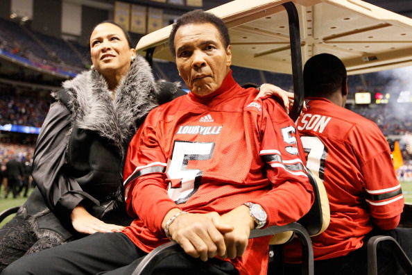 Muhammad Ali has been admitted to hospital with pneumonia ©Getty Images