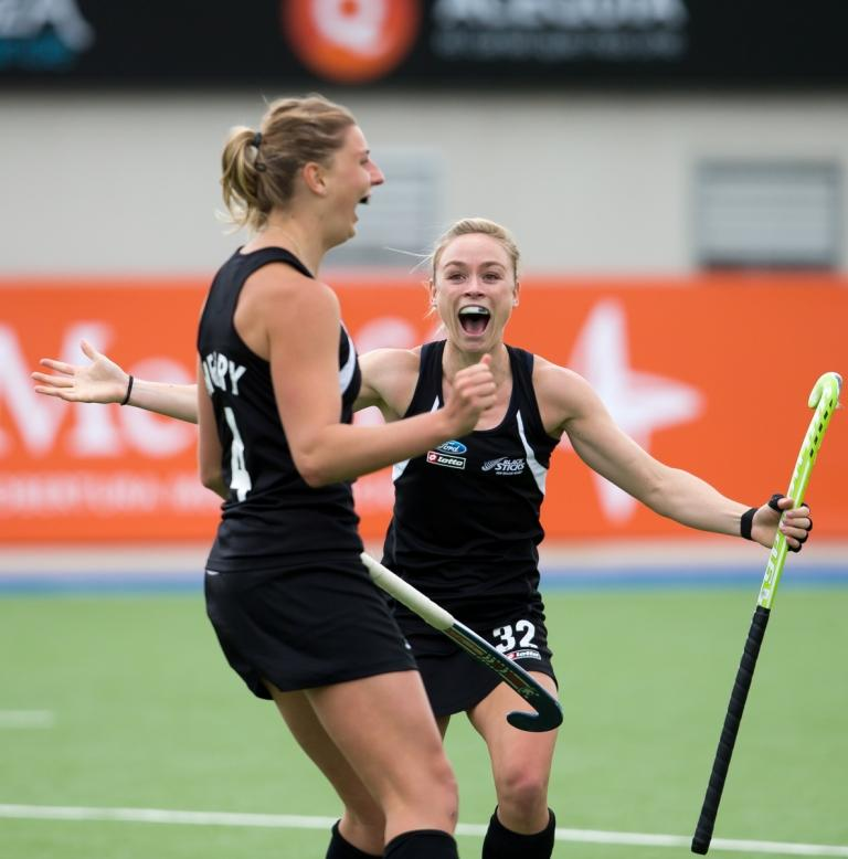 New Zealand shocked The Netherlands as they stole a point against the Olympic and world champions on day two of the Women's Champions Trophy ©FIH