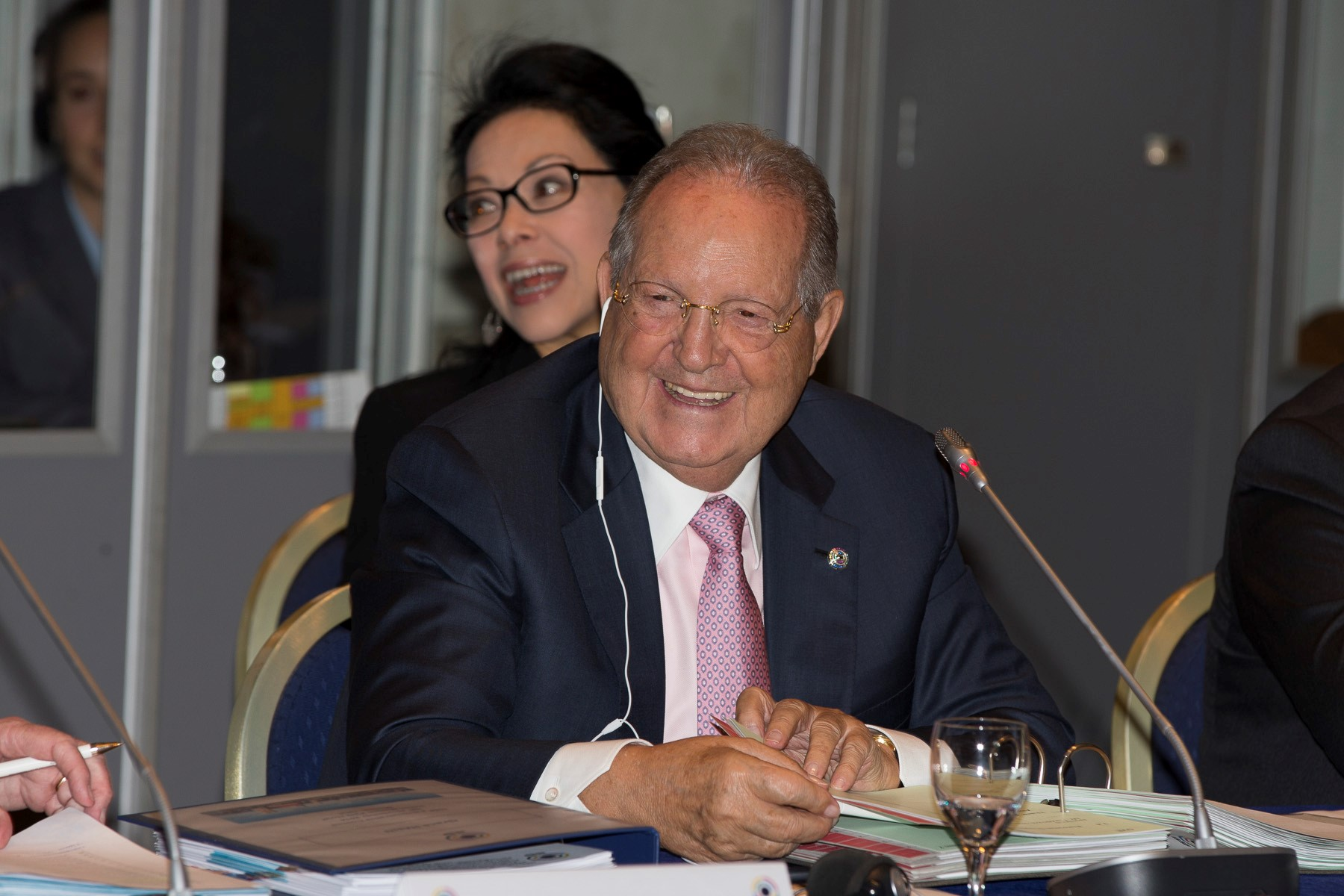 Olegario Vazquez Raña has been re-elected President of the ISSF ©ISSF