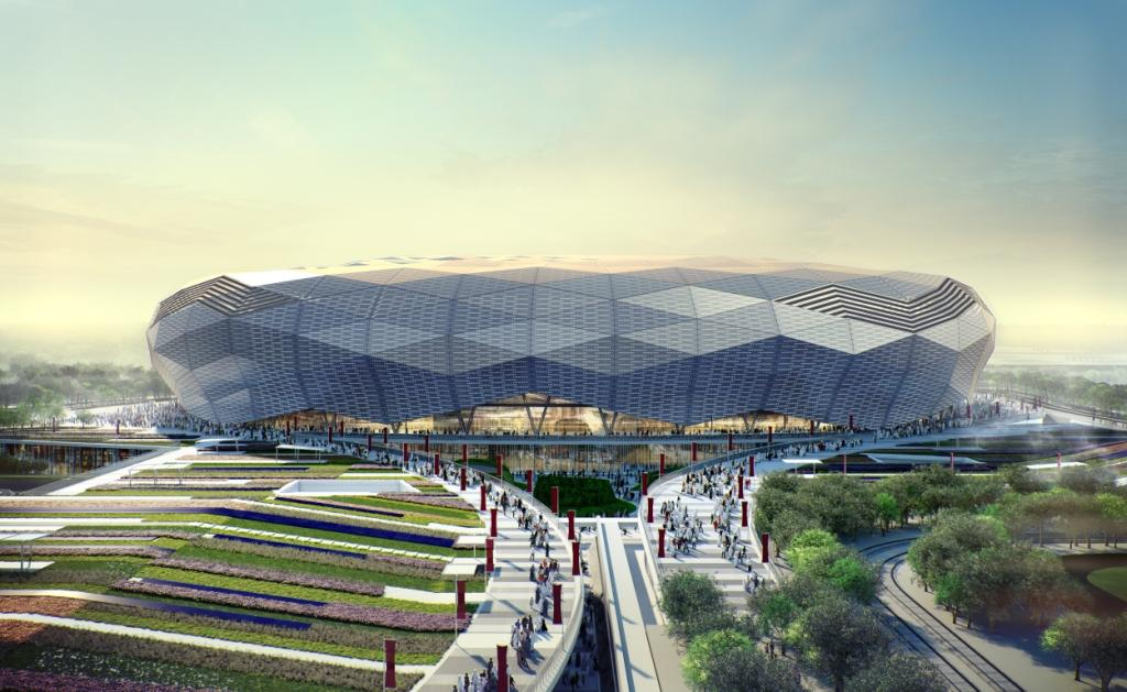 Plans have been unveiled for the Qatar Foundation Stadium ©SC